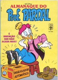 ALMANAQUE DO PROFESSOR PARDAL nº07 - EDITORA ABRIL